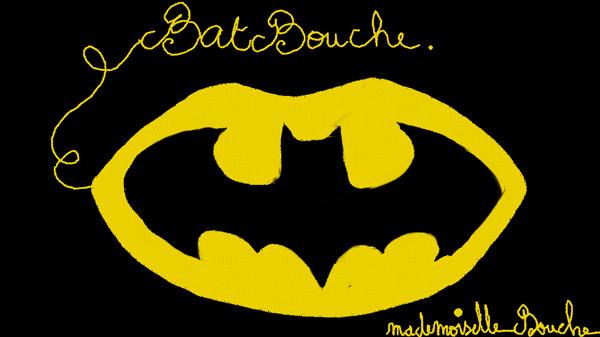 batbouche_batman_art_superhero_brand_humour_feminin_melle_mademoiselle_bouche_brand