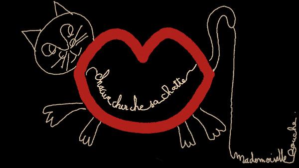 chatte_chat_humour_art_brand_sexy_feminin_melle_mademoiselle_bouche_brand