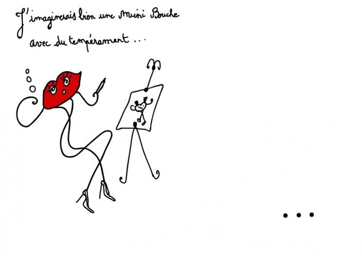 1_bourgeoise_peinture_mini_bouche_temperament_feminin_melle_mademoiselle_bouche_mascotte_personnage