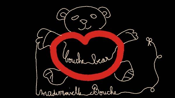 bear_ours_dessin_illustration_melle_mademoiselle_bouche_brand