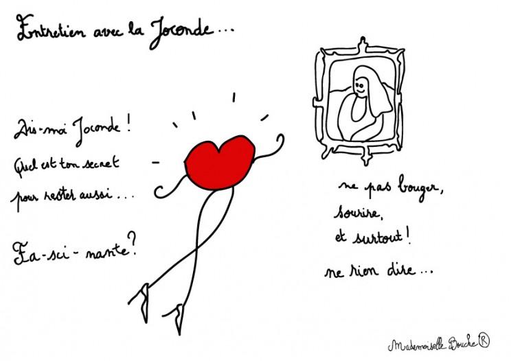bourgeoise_peinture_joconde_sourire_feminin_melle_mademoiselle_bouche_mascotte_personnage