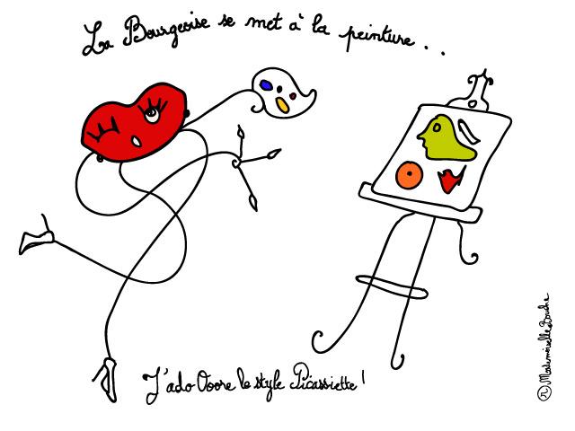 bourgeoise_peinture_picasso_picassiette_bouche_feminin_melle_mademoiselle_bouche_mascotte_personnage
