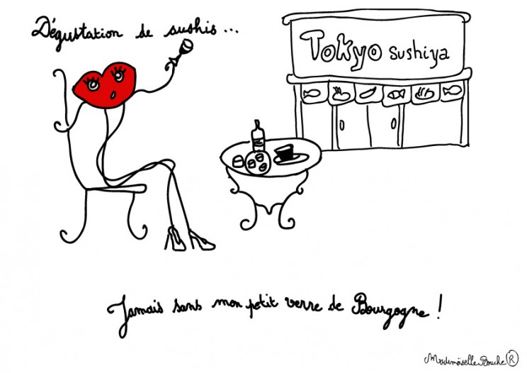 bourgeoise_sortie_opera_humour_hebdomadaire_actualite_melle_mademoiselle_bouche_mascotte_personnage