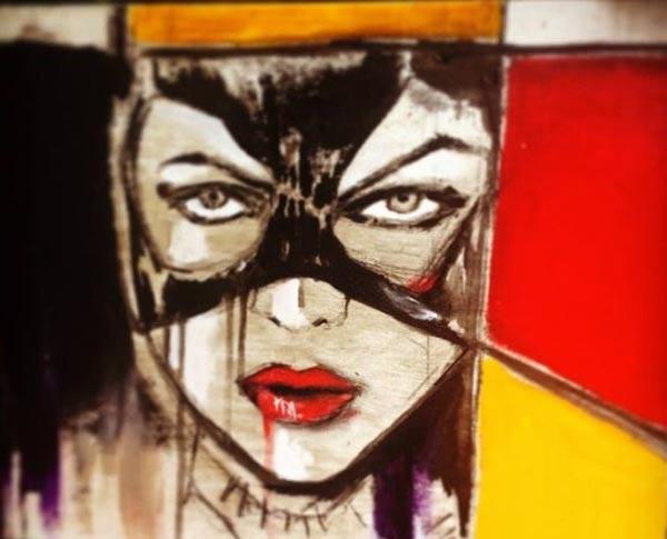 catwoman_masque_heroine_super_hero_comics_art_acrylique_melle_mademoiselle_bouche_tableau_toile