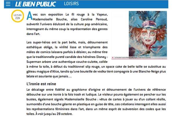 exposition_dijon_bienpublic_vapeur_comics_buste_super_hero_art_melle_mademoiselle_bouche