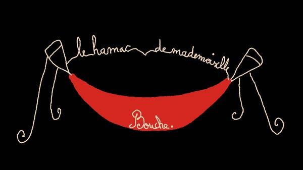 hamac_illustration_art_melle_mademoiselle_bouche_brand