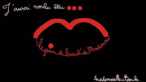 madonna_grain_beaute_star_dessin_art_humour_melle_mademoiselle_bouche-brand