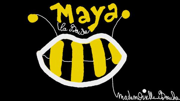 maya_abeille_art_funny_illustration_melle_mademoiselle_bouche_brand