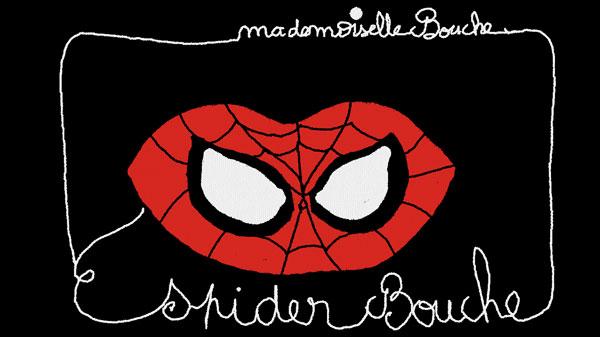 spiderman_super_hero_art_humour_illustration_melle_mademoiselle_bouche_brand