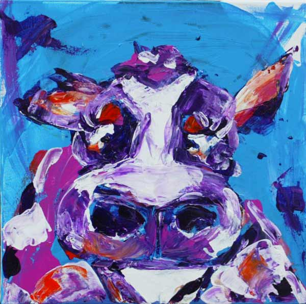 vache_ferme_animaux_art_peinture_acrylique_toile_melle_mademoiselle_bouche
