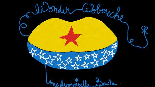 wonder_woman_super_hero_heroine_art_humour_illustration_melle_mademoiselle_bouche_brand