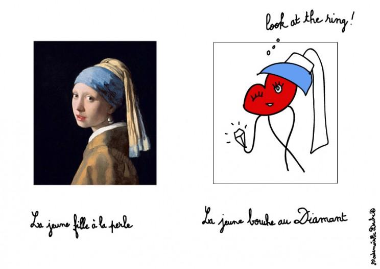 perle_diamant_jeune_fille_wermer_art_humour_look_ring_dessin_melle_mademoiselle_bouche