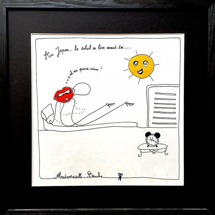 8_lever_tot_bourgeoise_voyage_japon_soleil_levant_reveil_toile_art_illustration_humour_acrylique_tableau_japonais_melle_mademoiselle_bouche