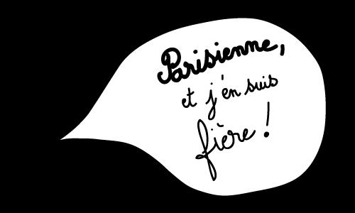 Bulle blanche Parisienne et j'en suis fière !